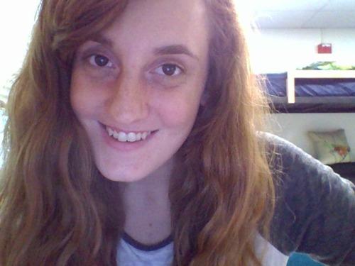 Headshot of woman smiling at camera