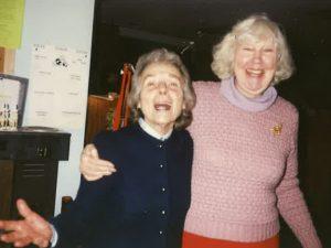 Jane Morse and Marie Urbanski